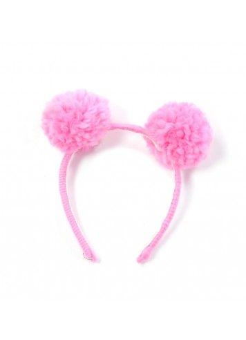 anais and i pom pom headband