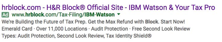 IBM Watson Brings AI to H&R Block Tax Preparation