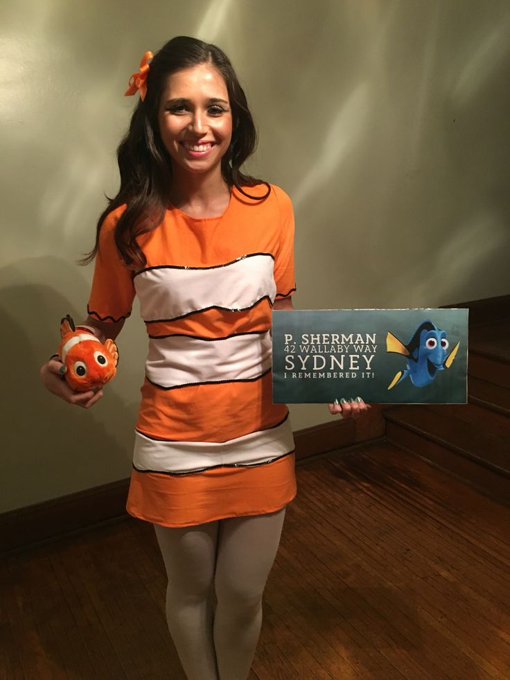 Finding Nemo women's Halloween costume DIY