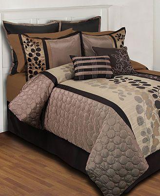 Sydney 24 Piece King Comforter Set Bed In A Bag Bath Macy S