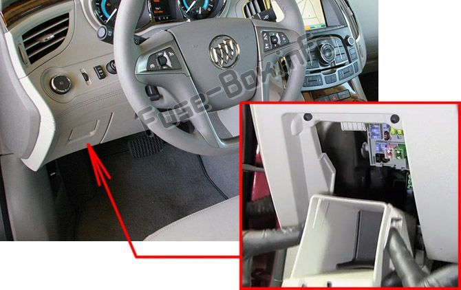 2011 buick fuse box buick lacrosse  2010 2016    fuse box location  with images 2011 buick regal cxl fuse box diagram buick lacrosse  2010 2016    fuse box