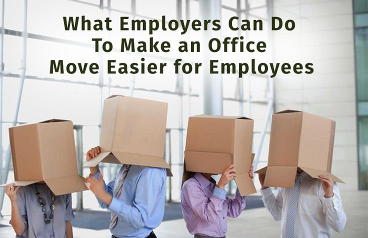 What Employers Can Do To Make an Office Move Easier for Employees  #Corporatemovers #corporatemoversandpackers #corporatemovingservices