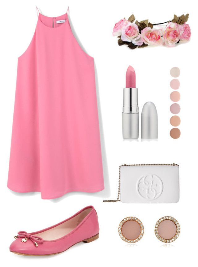 """Untitled #4"" by luc-ka on Polyvore featuring MANGO, Kate Spade, TheBalm, Deborah Lippmann, GUESS and Michael Kors"