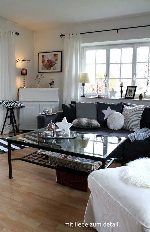 Oktober 2012 - Mit Liebe zum Detail | Fixer Upper Wohnzimmer in 2019 ...