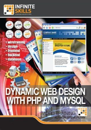 In this training course from expert author and developer Steve Perry, you will learn how to leverage PHP and MySQL for your website development to create dynamic, interactive websites. This training is designed for the savvy developer, you should have some experience with programming languages, and familiarity with PHP and MySQL, as well as HTML. Steve starts with some basics on PHP, and integrating it into a website form. Price: $39.98