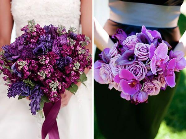 Top 10: Purple Wedding Bouquets - Project Wedding Blog