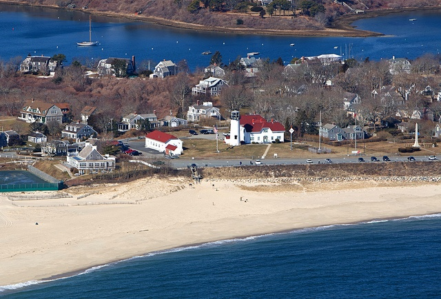Chatham Lighthouse Beach Aerial    Chatham, Cape Cod    ©Christopher Seufert Photography