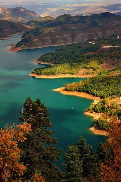 Lake Plastira, Greece: Lakeplastira, Lakes Plastira, Discover Greece, Beautiful Places, Posts, Travel, Plastira Greece, Natural, Plastira Lakes
