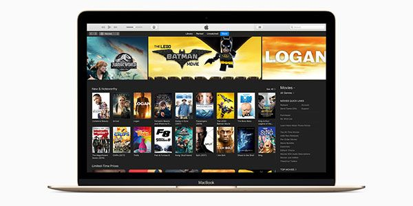 iTunes is a powerfull media player, media library, Internet