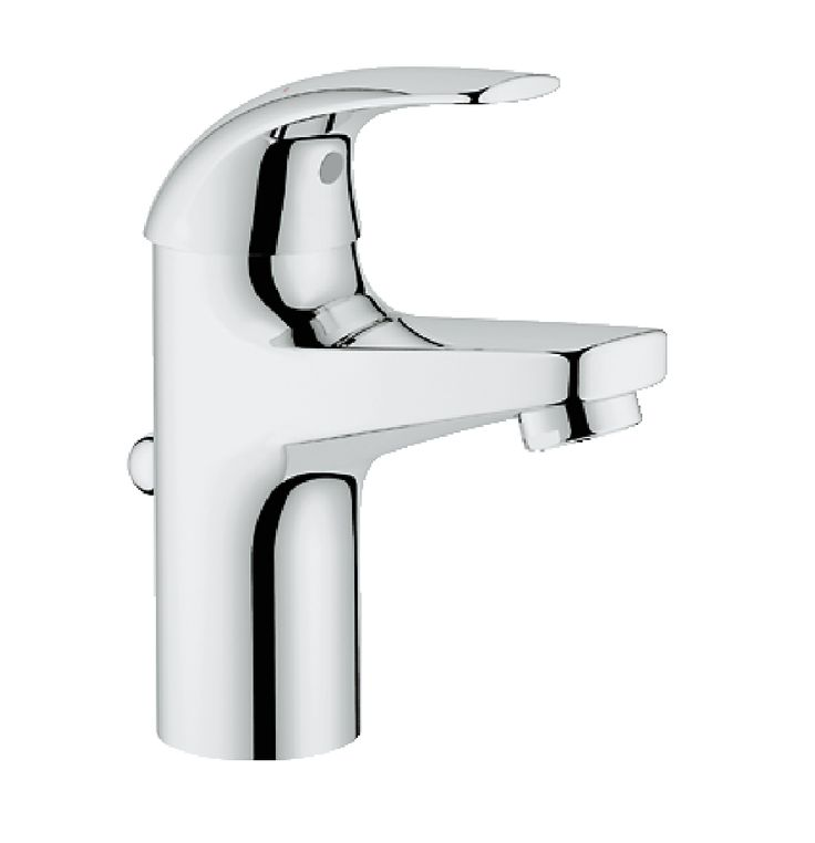 Grohe Baucurve Single Lever Basin Mixer In