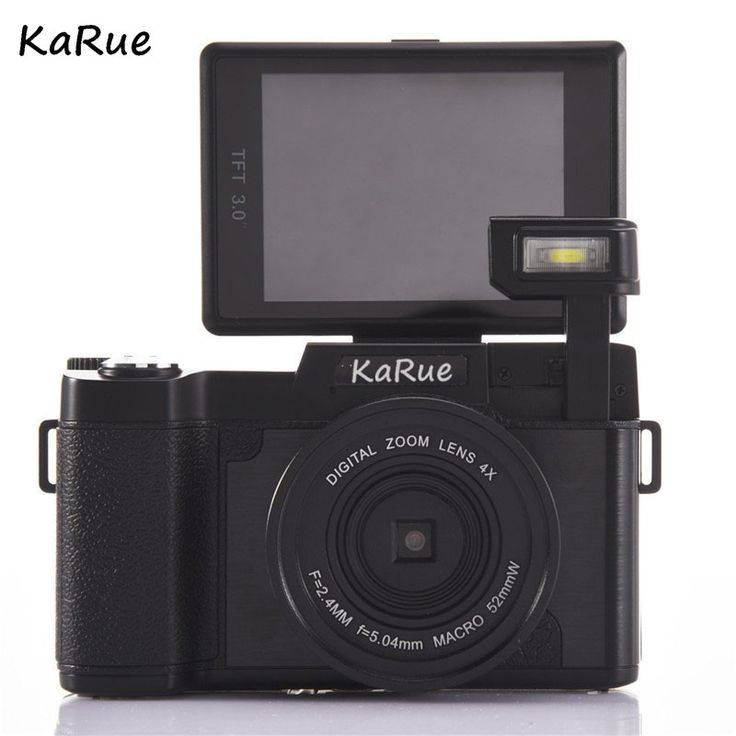 KARUE CDR2 24MP Digital Camera Full HD 1080P 3 0 LCD Rotatable Anti shake 4X Video. #KARUE #CDR2 #24MP #Digital #Camera #Full #1080P #Rotatable #Anti #shake #Video