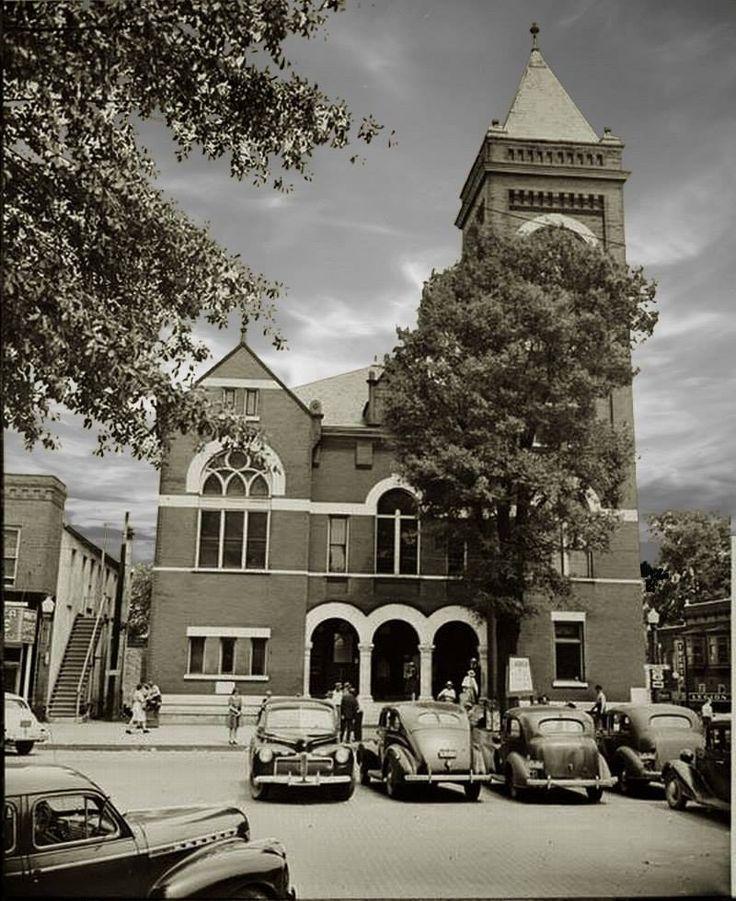 marietta ca 1943 cobb county courthouse marietta