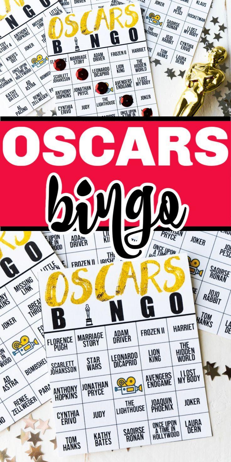Oscar Halloween 2020 2020 Oscars Bingo Game in 2020 | Oscar party games, Halloween