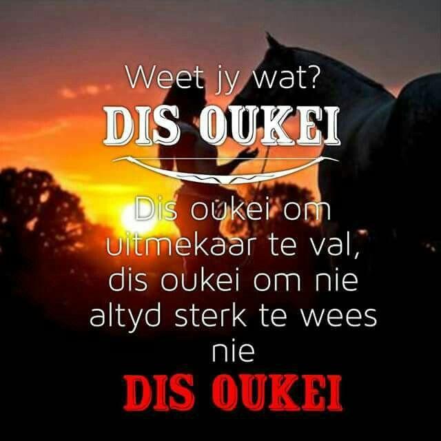 Dis Oukei... #Afrikaans