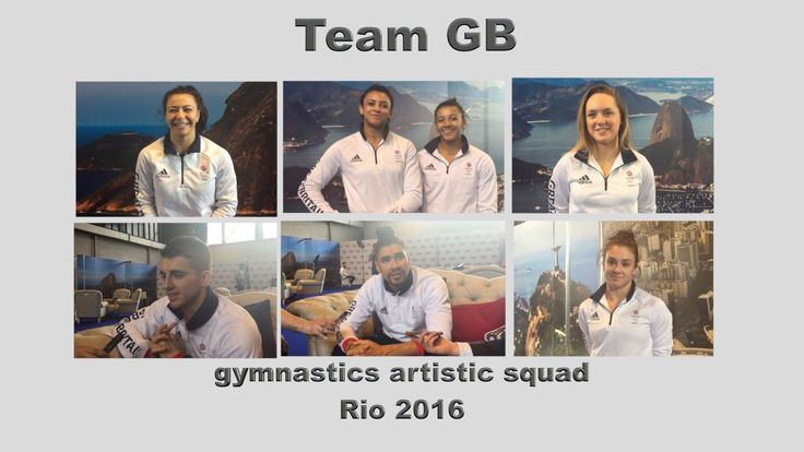 The Gymnastics Artistic squad selected to compete for Team GB in Rio 2016