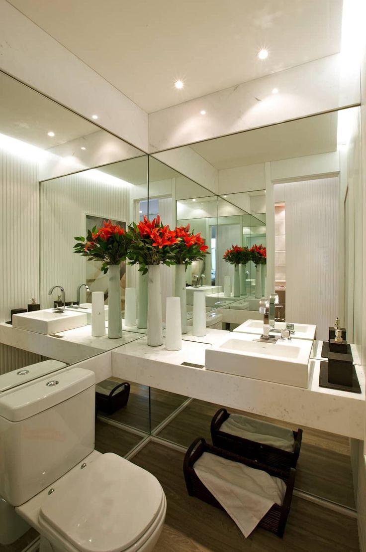 MAC_NEW RESIDENCE IPIRANGA 53m²: Banheiros modernos por Chris Silveira & Arquitetos Associados