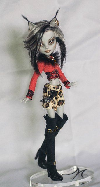 I repined this but I love monster high dolls so I love this one.