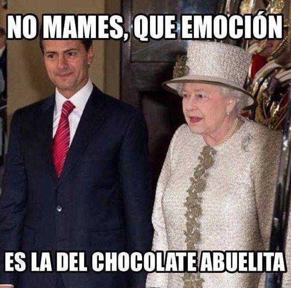La reina Isabel II recibió al presidente mexicano en el palacio de Buckingham en Londres, donde se quedará hasta el jueves. Y así fue como los mexicanos reaccionaron en las redes sociales ante la v...