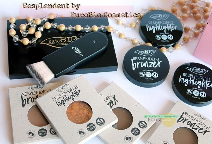 Resplendent PuroBio Cosmetics:highlighter e bronzer