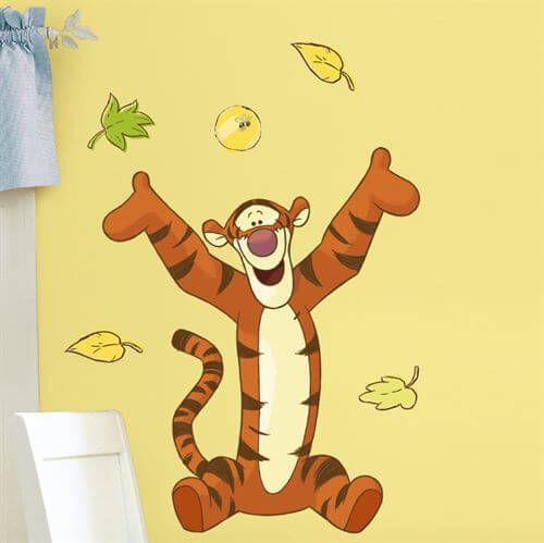 Wallsticker med Tigergutt fra Ole Brumm