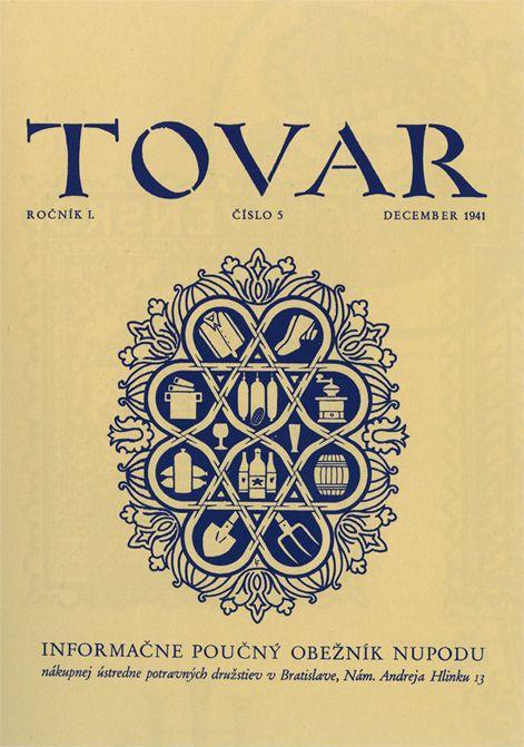 Fulla, obálka časopisu Tovar, 1941