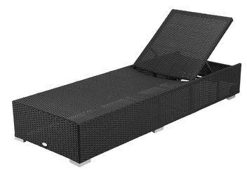 Exklusiv solvagn i aluminium och handflätad, väderbeständig petan. B70 x L198 x H30 cm                           Monteringsanvisning                                         Storlek monterad: Bredd: 70 cm, Längd: 198 cm, Höjd: 30 cm   Material stol:  Ram: Aluminium, Rygg: Petan, Sits: Petan Petan är ett flätat konstmaterial. Konstflätning är till skillnad från naturflätning, flätad av ett syntetiskt material. Fördelen med konstflätning är att den tå...