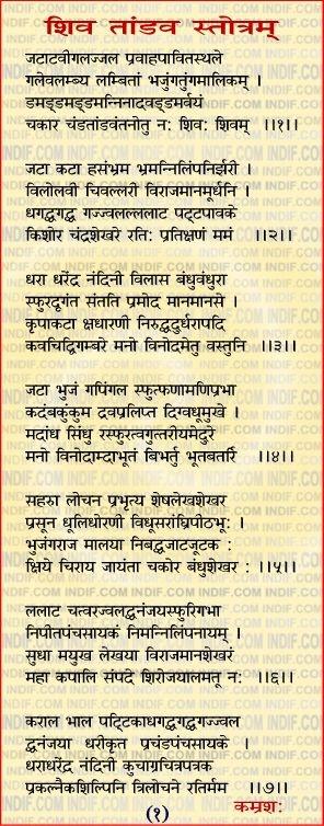 II Shiv Tandav Stotram II  शिव तांडव स्तोत्रम्