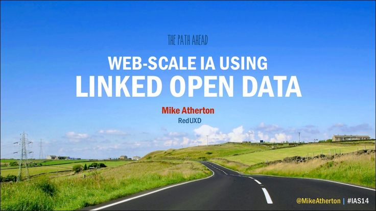 Web-scale IA using Linked Open Data by Mike Atherton via slideshare