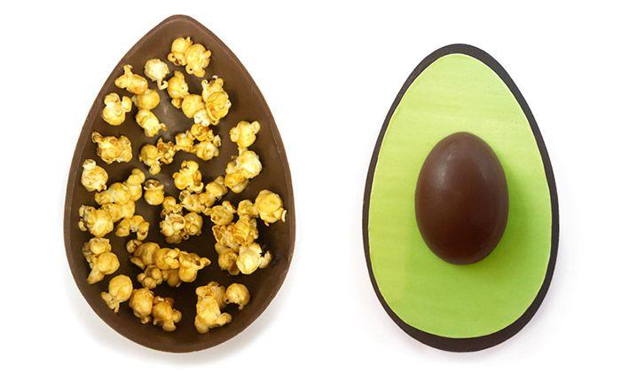 Designéři navrhli velikonoční vajíčka nejen z čokolády