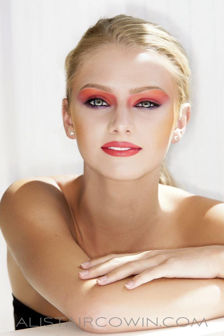 Studio portfolio shoot.  Make up: Chloe Bradley