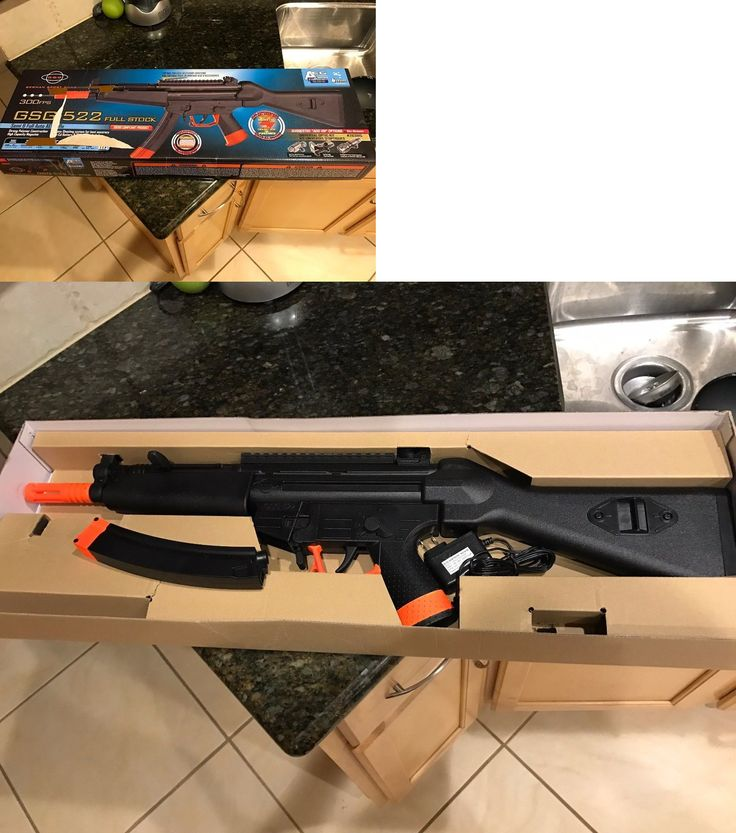Other Electric Airsoft Guns 31684: Ics Gsg 522 Aeg Airsoft Gun, No Pellets Included, Comes With What Is Pictured BUY IT NOW ONLY: $53.95