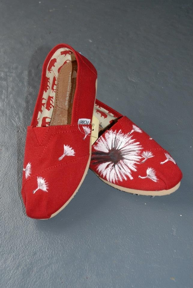 More hand painted shoes