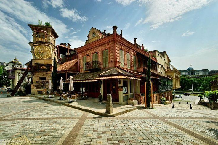 Gabriadze Theater, Театр марионеток Резо Габриадзе в Тбилиси