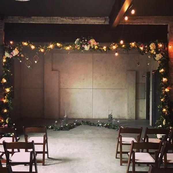 Foundry Room Edmonton Wedding Wedding Venues Art Collage Wall