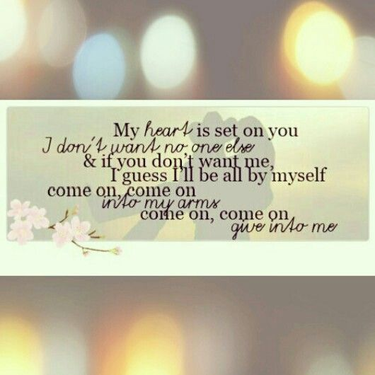 Give Into Me | Country Strong | Lyrics | Love | Leighton Meester | Garrett Hedlund
