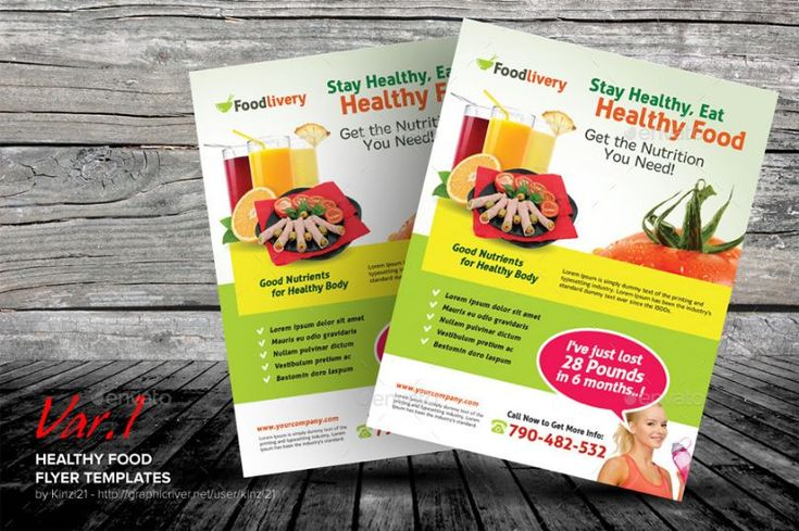 Clean Food Flyer Template Psd 20 Restaurant And Food Flyer