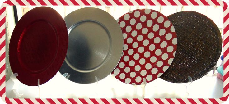 porta platos navideños