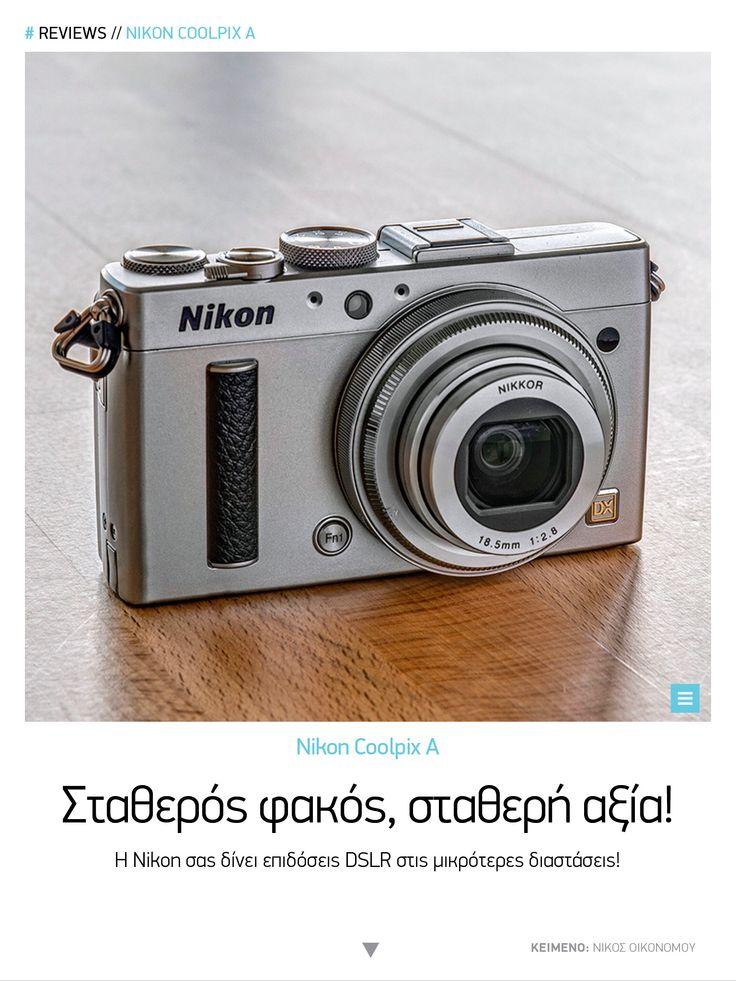 Nikon Coolpix A #Tech Matrix | Νοέμβριος 2014 https://itunes.apple.com/us/app/tech-matrix/id808683184?ls=1&mt=8 | https://play.google.com/store/apps/details?id=com.magplus.techmatrix
