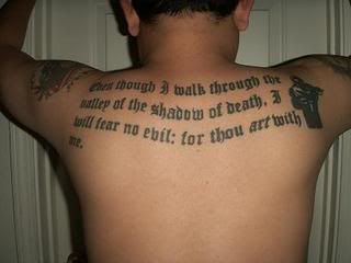Soldiers Creed Tattoo Official- mob tattoo picture thread