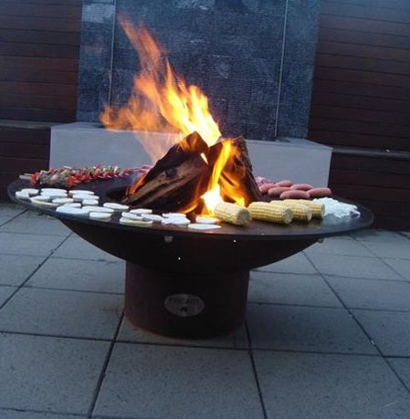 182 best fire pits images on pinterest for Outdoor furniture yagoona