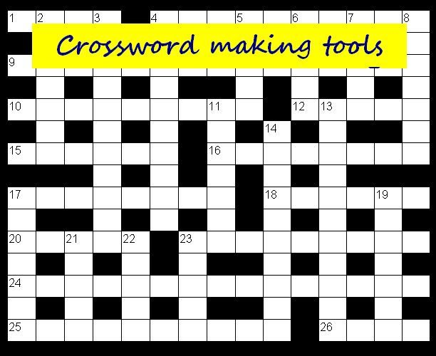 Crossword Making Tools. Touch Photo by ThingLink.
