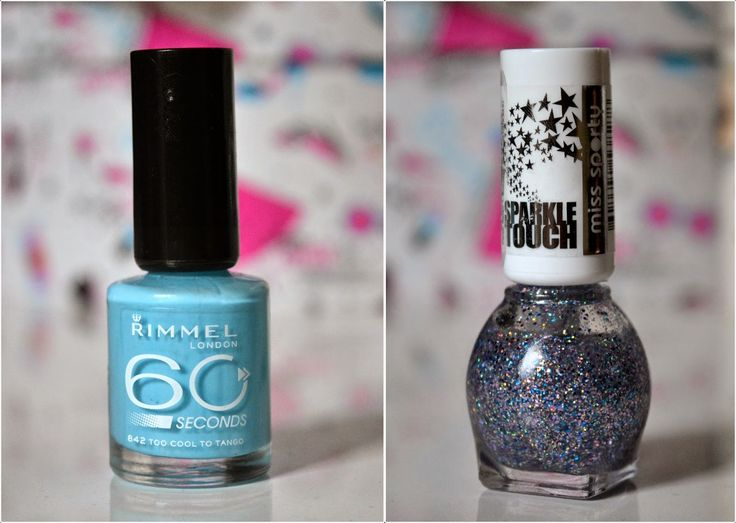 Laura Iovan - Beauty & Fashion Lover: NOTD: Rimmel Too Cool To Tango si Miss Sporty Sparkle Touch