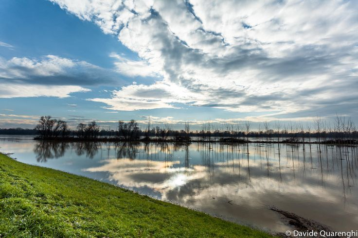 River Po, Cremona, Italy by Davide Quarenghi on 500px