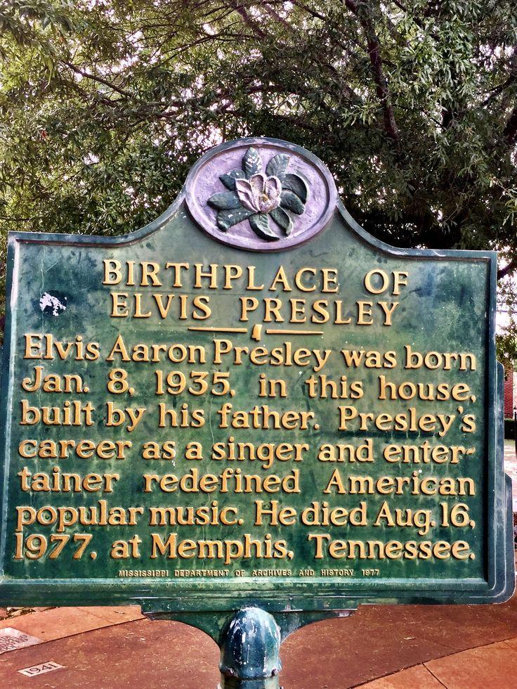 Elvis presleys birthplace tupelo mississippi august 2017
