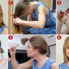 How to Cut Your Own Hair, #cut #Hair#cut #hair