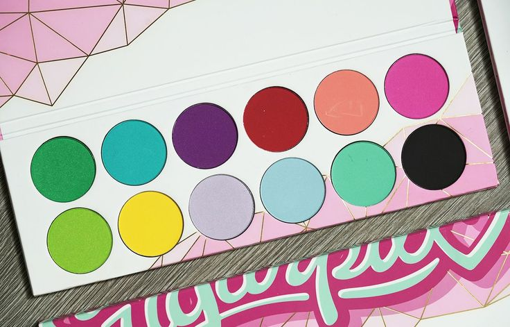 Linda testar | Sugarpill Pro palette & Pro Pans