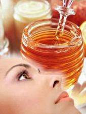 Miel con Linaza excelente exfoliante para que tu piel se  vea preciosa:).  Tenemos que cuidarnos....xD
