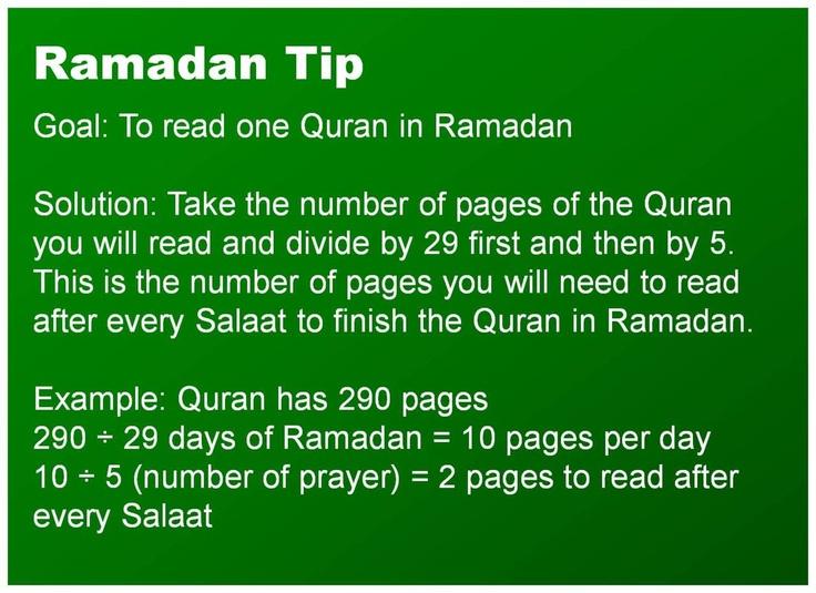 Reading Quran in ramadan.