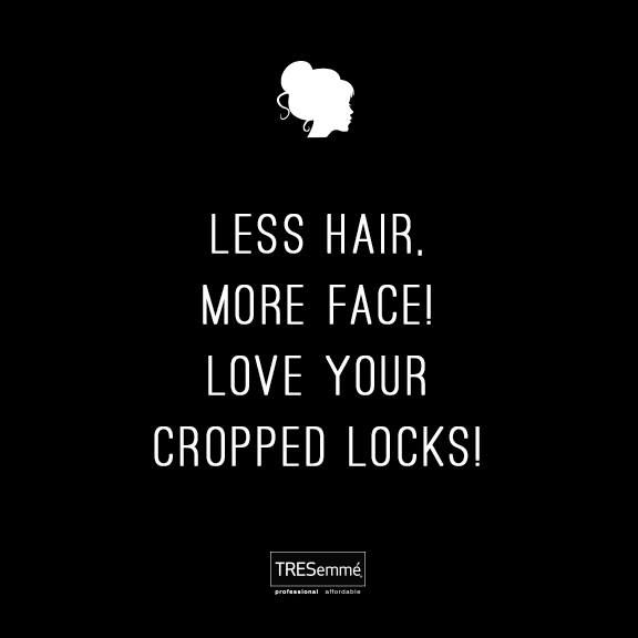 Rising temps + cropped #locks! We <3 it! Who are your short-haired friends? #short #hair #pixie