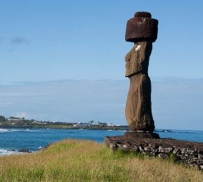 Previously, scientists theorized that the Rapa Nui population collapsed before Europeans arrived, from felling of trees and vegetation, attendant topsoil loss and subsequent starvation of many of the people. Researchers of the island are finding evidence that the population of these people did not decline and endanger their survival until after Europeans arrived in 1722. There was even a population gain after Europeans, until diseases such as syphilis and smallpox and slavery decimated them.